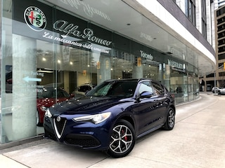 New 2020 Alfa Romeo Stelvio Ti SUV ZASPAKBN0L7C75418 for sale or lease in Toronto, Ontario