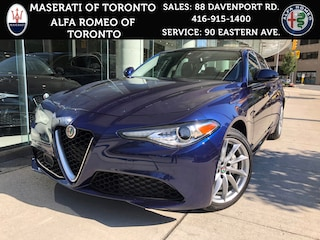 New 2017 Alfa Romeo Giulia Demo: AWD, Pano Roof, 8.8 Display, 3.9% APR Sedan ZARFAEDN5H7534050 for sale or lease in Toronto, Ontario