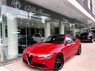 New 2019 Alfa Romeo Giulia Sedan ZARFANAN8K7617418 for sale or lease in Toronto, ON