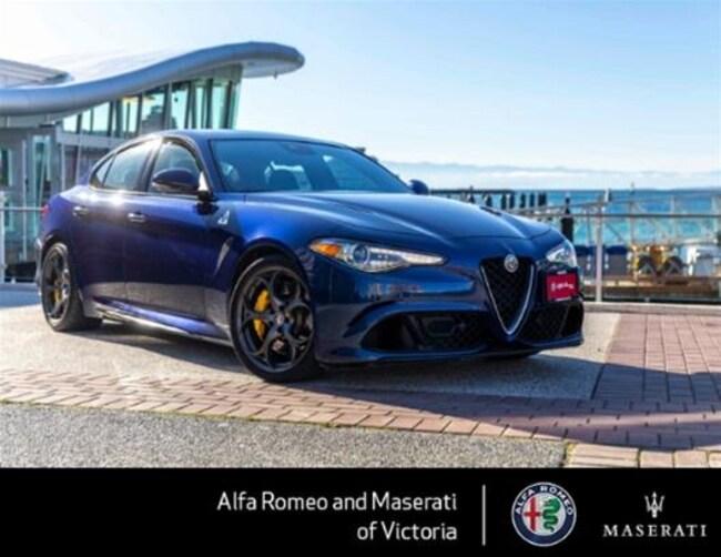 2017 Alfa Romeo Giulia Quadrifoglio RWD Worlds Fastest *Sedan* Around the