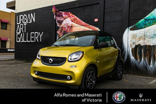 2017 Smart Fortwo Electric Drive cpe Full Electric