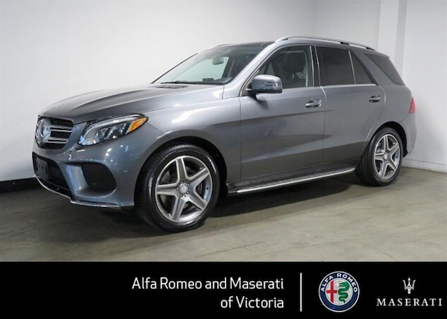 2017 Mercedes-Benz GLE400 4matic SUV BC Mercedes