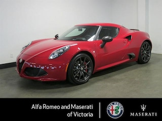 2016 Alfa Romeo 4c Coupe One Owner, Many Extras