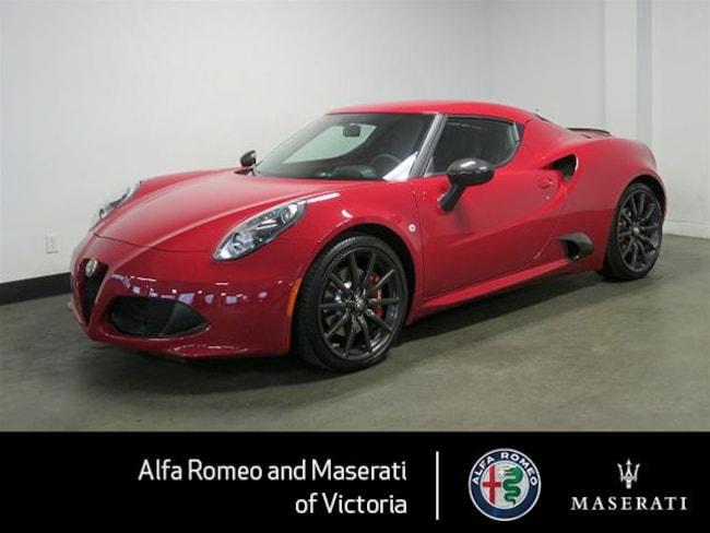 2016 Alfa Romeo 4c Coupe One Owner, Many Extras