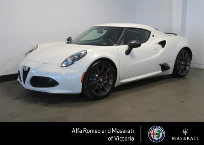 2016 Alfa Romeo 4c Coupe Dealer car From day one.