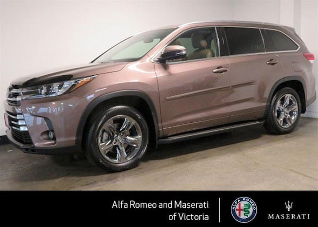 2017 Toyota Highlander Limited AWD LOW KMS, NO Accidents, B/C Only, NON R