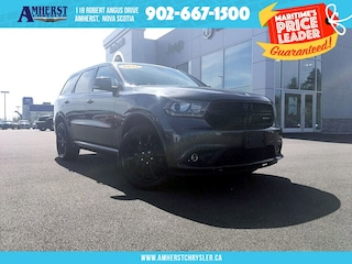 2017 Dodge Durango AWD - Only 50,000 KMS, Leather, Sunroof, Rear DVD SUV