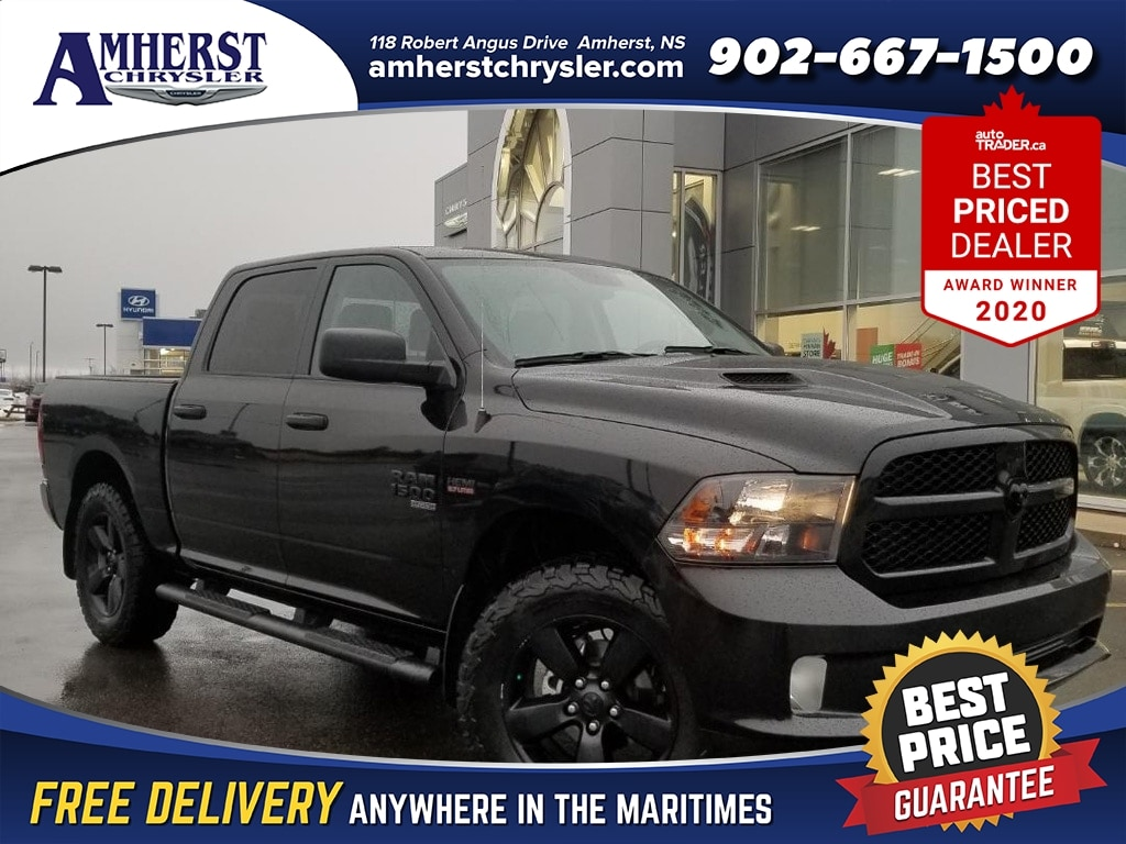 2019 Ram 1500 Classic SAVE OVER 20 Thousand DEMO ONLY 241 Bi Weekly 4X4 Lifted wit Truck Crew Cab