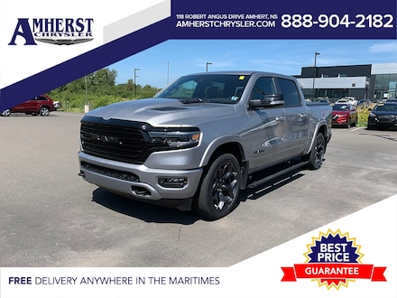 2021 Ram 1500 Limited,ONLY $499b/w,Leather Heated/Cooled Seats Truck Crew Cab
