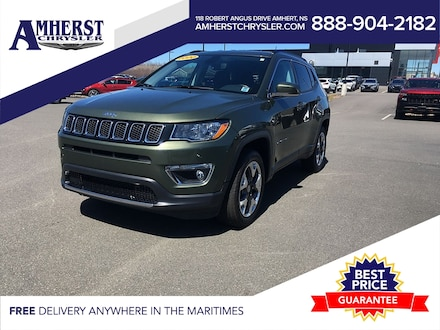 2020 Jeep Compass 4x4, Limited, Only$189b/w,Heated Leather Seats,Rem SUV
