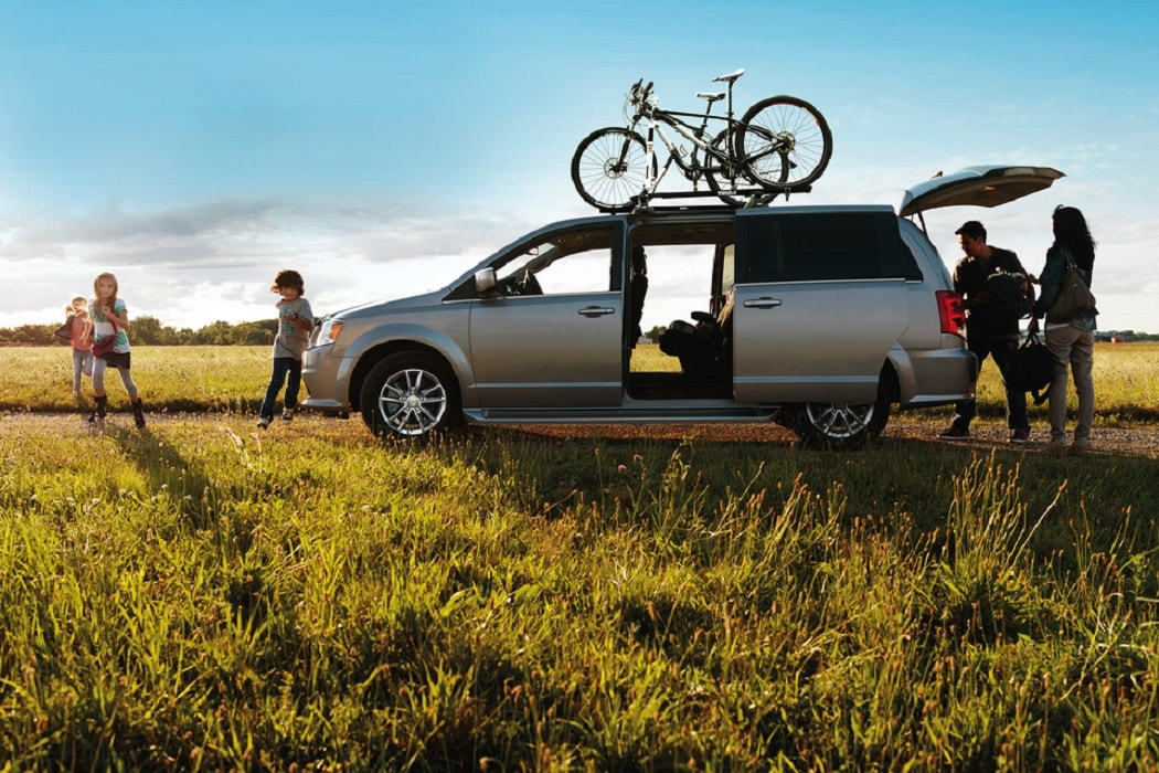 2020 Dodge Grand Caravan With A Family