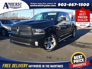 2016 Ram 1500 4x4 Sport $269 b/w Heated/Cooled Seats, Boxliner Truck Crew Cab