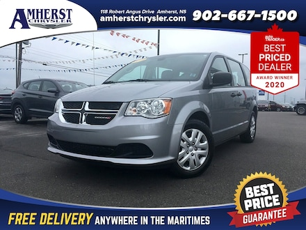 2019 Dodge Grand Caravan DEMO ONLY $175 Bi Weekly 7 Passenger Bluetooth Bac Van Passenger Van