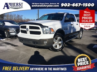 2014 Ram 1500 4x4 $269b/w Heated Seats, Touchscreen, Hitch Truck Crew Cab