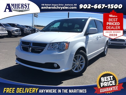 2020 Dodge Grand Caravan Premium Plus,ONLY $234b/w,Heated Seats/Wheel,DVD,Power Sliding Doors/Liftgate,Nav,Remote Start Van