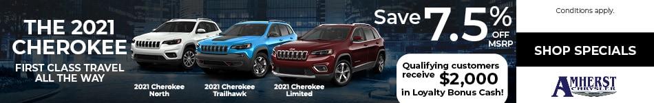 The 2021 Jeep Cherokee