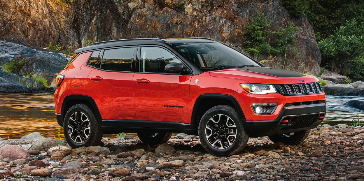 2021 Jeep Compass in Red | Amherst Chrysler