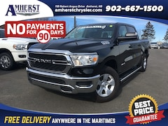 2019 Ram All-New 1500 SXT,Trailer Mirrors/Hitch/Brake Control with 3.92  Truck Crew Cab