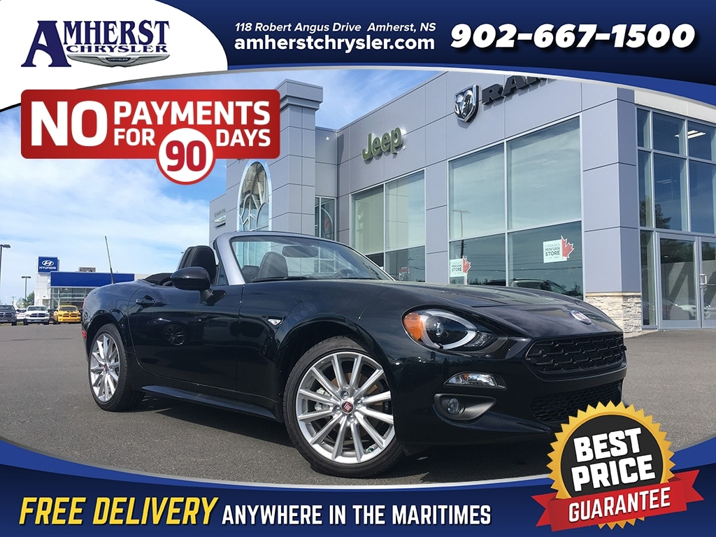 2019 FIAT 124 Spider Lusso, SAVE $10,000 Convertible