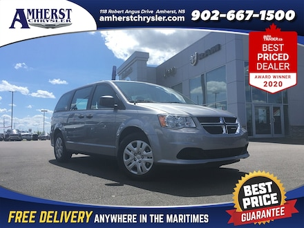 2019 Dodge Grand Caravan DEMO ONLY $175 Bi Weekly 7 Passenger Bluetooth Back Van Passenger Van