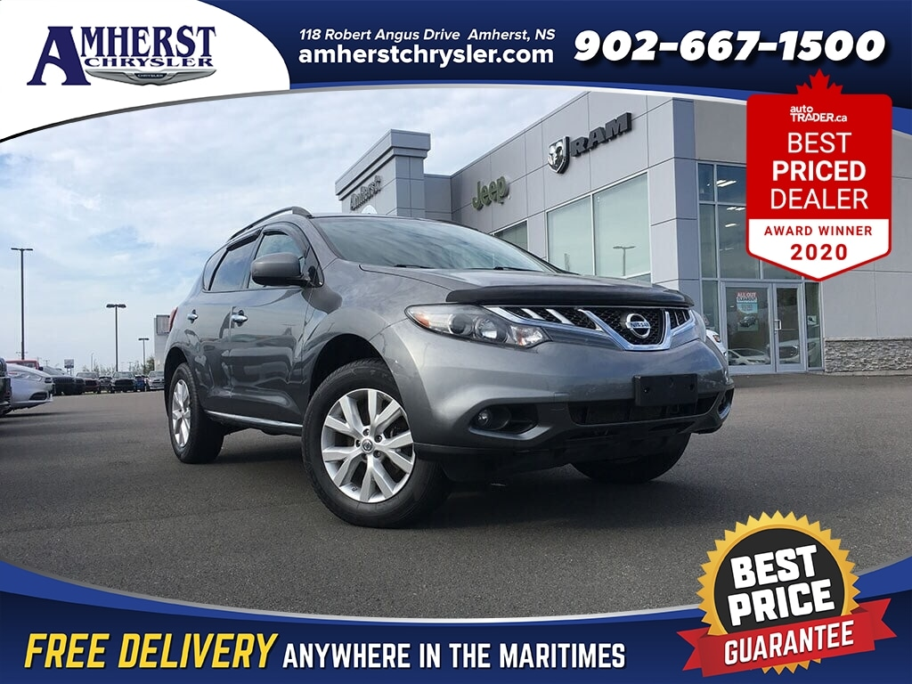 2014 Nissan Murano Only $127b/w,4X4,Local trade,V6,New Tires, SUV