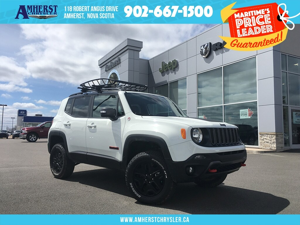 2018 Jeep Renegade 4X4 - Roof Rack, Backup CAM, Heated Seats SUV
