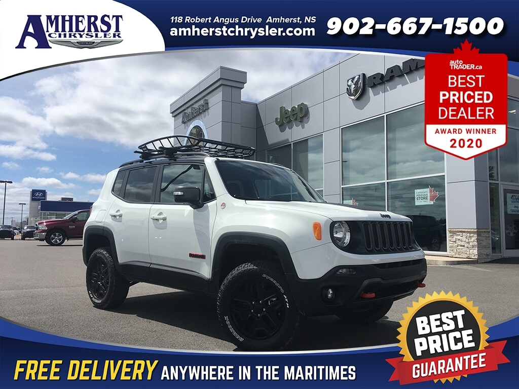 2018 Jeep Renegade Trailhawk 4X4 DEMO SAVE Over Thirteen Thousand Dollars WAS Over Forty Thousand Dollars NOW ON SUV
