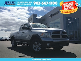 2016 Ram 1500 4X4 - LOW KMS, TOW Package, Backup CAM, Bluetooth Truck Quad Cab