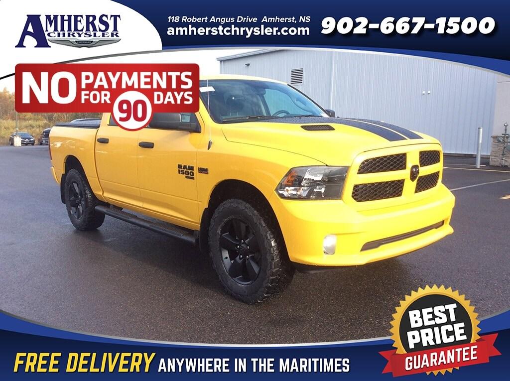 2019 Ram 1500 Classic Yellow Stinger , SAVE $15,780 PLUS LIFT/AT TIRES Truck Crew Cab