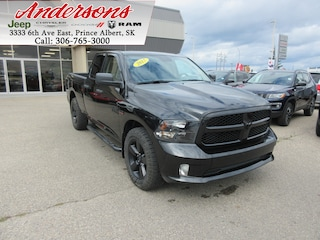 2017 Ram 1500 Black Express *Back-up Cam/Trailer Brake* Truck Quad Cab