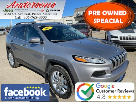 2017 Jeep Cherokee Limited *Low KM* SUV
