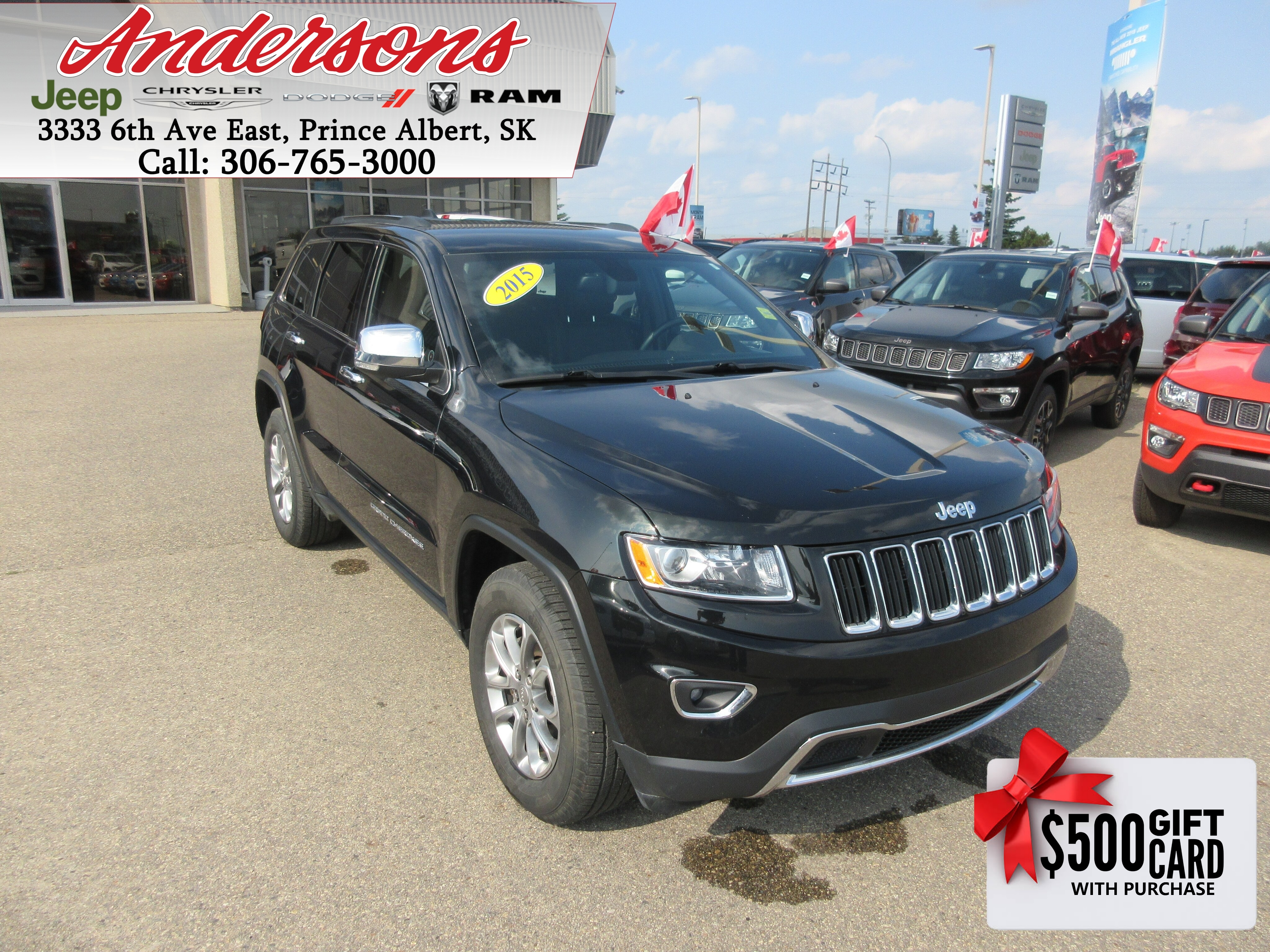 2015 Jeep Grand Cherokee Limited * Heated Seats* SUV