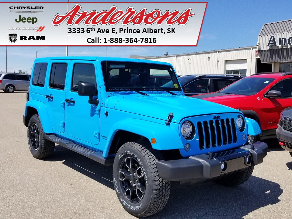2018 Jeep Wrangler JK Unlimited Sahara * Heated Seats/Remote Start* SUV