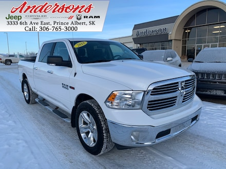 2018 Ram 1500 SLT *EcoDiesel/Leather* 4x4 Crew Cab 6.3 ft. box 149 in. WB