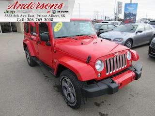 2018 Jeep Wrangler JK Unlimited Sahara *NAV/Heated Seats* SUV