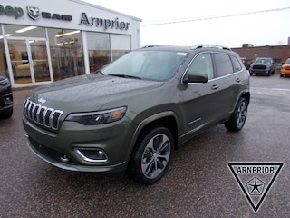 New 2020 Jeep Cherokee Overland SUV for sale in Arnprior, ON