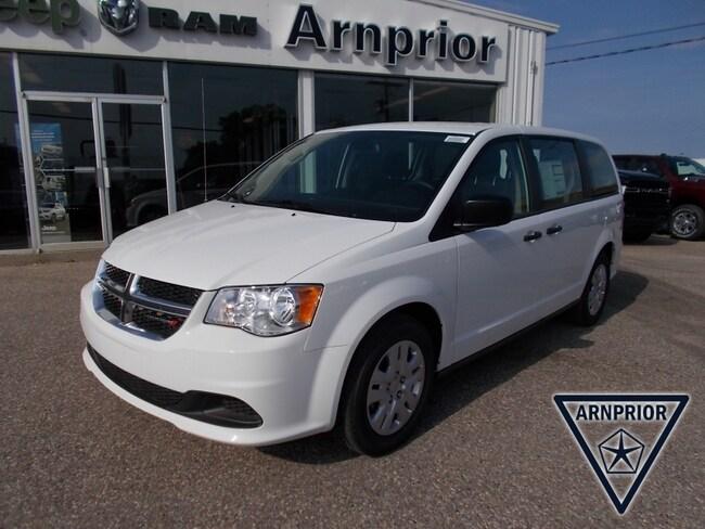 New 2019 Dodge Grand Caravan Canada Value Package Van for sale in Arnprior, ON