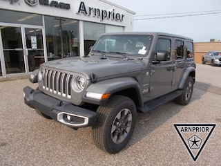 New 2021 Jeep Wrangler Unlimited Sahara SUV for sale in Arnprior, ON