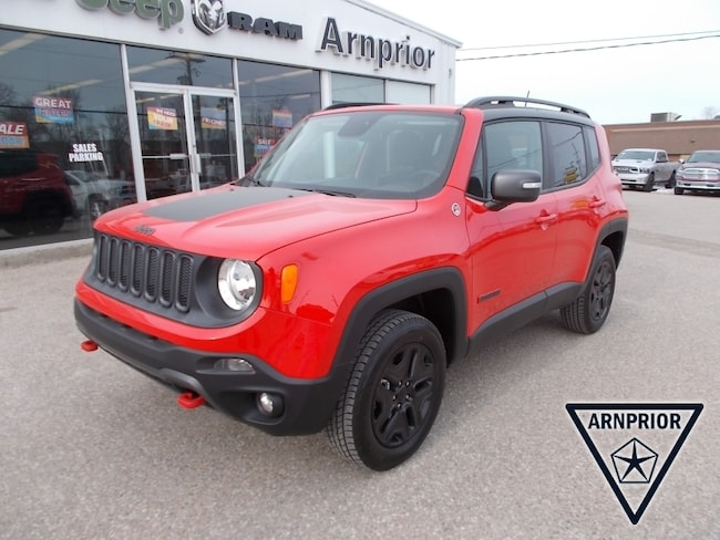 New 2018 Jeep Renegade Trailhawk SUV for sale in Arnprior, ON