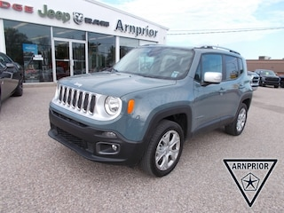 Pre-Owned 2017 Jeep Renegade Limited SUV for sale in Arnprior, ON