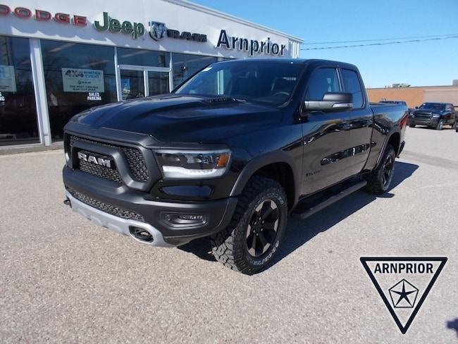 New 2019 Ram All-New 1500 Rebel Truck Quad Cab for sale in Arnprior, ON