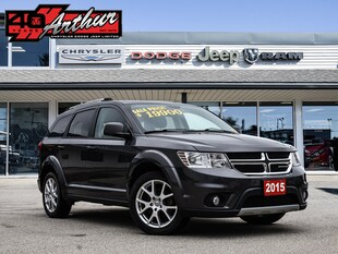 2015 Dodge Journey Limited With DVD Player SUV
