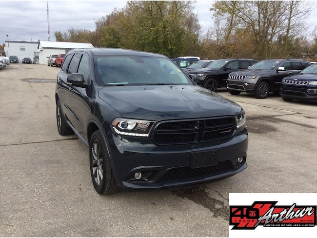 2018 Dodge Durango GT Awd With Navigation SUV