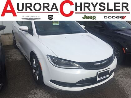 2016 Chrysler 200 S 3.6/9 Speed/Comfort Group Berline