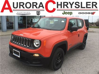 2016 Jeep Renegade Sport -4X4--Only 20, 000 KMS-Company CAR--+++ VUS