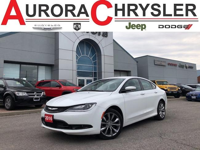 2016 Chrysler 200 S 3.6/9 Speed/Comfort Group Sedan