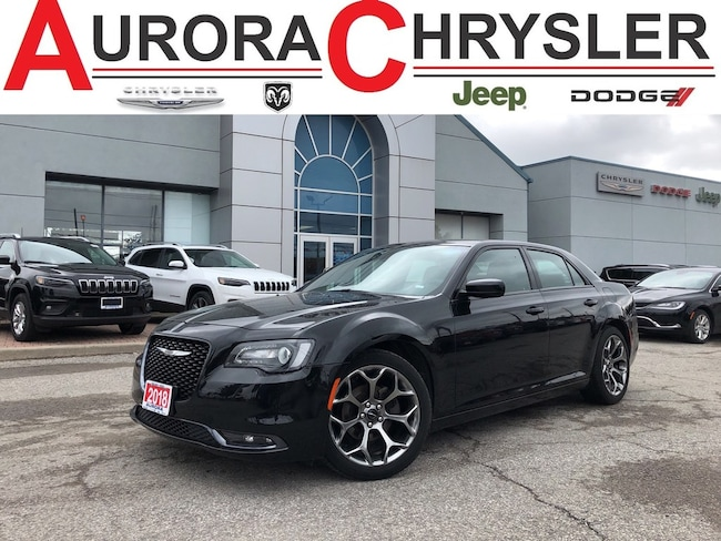 2018 Chrysler 300S S--BLK-ON-BLK- With 40, 000 KMS Sedan