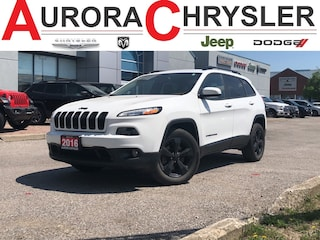 2016 Jeep Cherokee 4WD 4dr North High Altitude PKG--6 CYL=== SUV