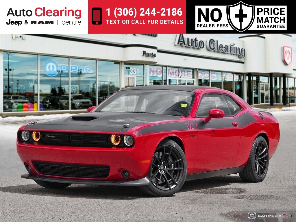2018 Dodge Challenger T/A 392 with GPS Navigation Coupe