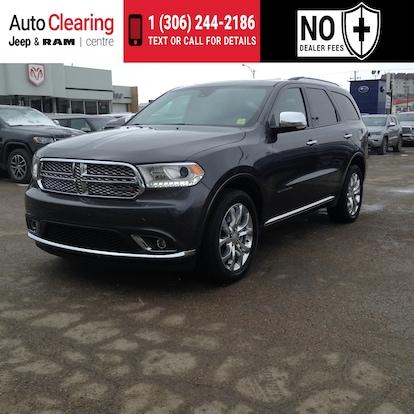 Dodge Dealership Saskatoon >> 2018 Dodge Durango Citadel Awd V6 Engine With Navigation